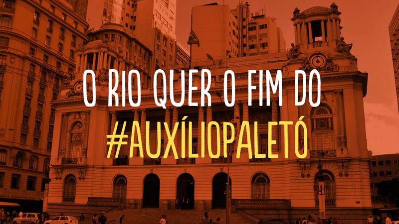 Queremos o fim dos 14º e 15º salários para os vereadores do Rio!