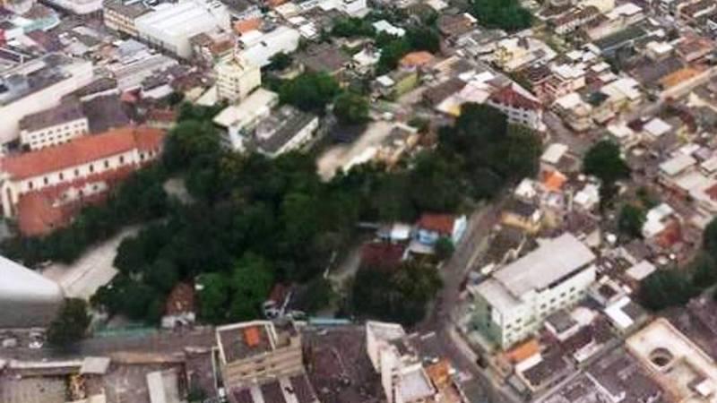 Pela preservação da última área verde do centro de Caxias