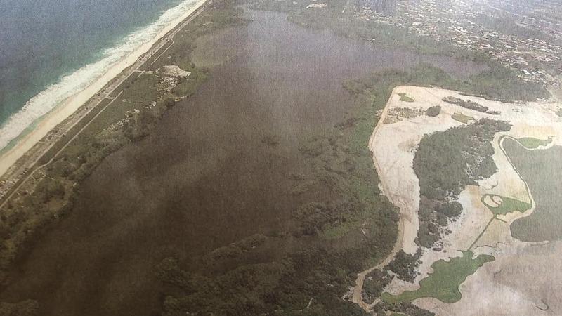 Campo de golfe devasta  o foto a rea 11 2014