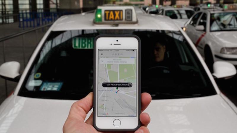 C pia de uber taxistas