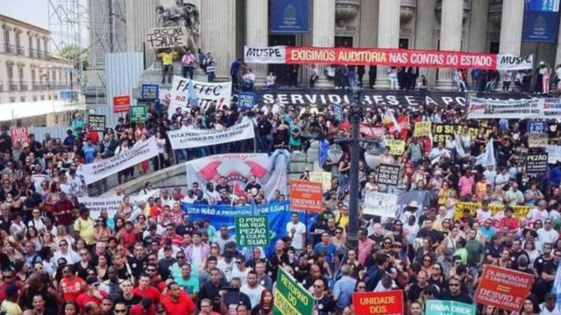 Governo do RJ: Quem negociará JÁ  com os servidores em greve?