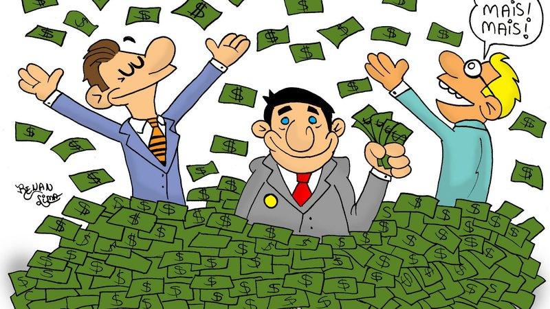 Politicos e dinheiro
